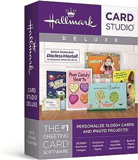 Nova Development US Hallmark Card Studio Deluxe 2018 - Old Version