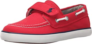 Polo Ralph Lauren Kids Sander EZ R Canvas N PP Fashion Sneaker (Toddler/Little Kid)