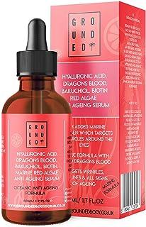 Hyaluronic Acid, Dragons Blood, Marine Collagen, Bakuchiol,