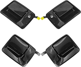 Front & Rear Exterior Door Handles Paint to Match Kit Set of 4 for Ford Truck