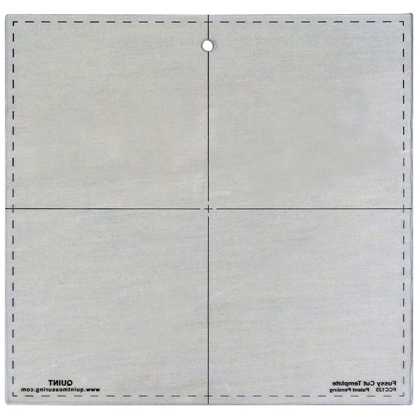 Quint Measuring Systems FCC125 Fussy Cut Series Cutting Squares, 12.5-Inch x 12.5-Inch