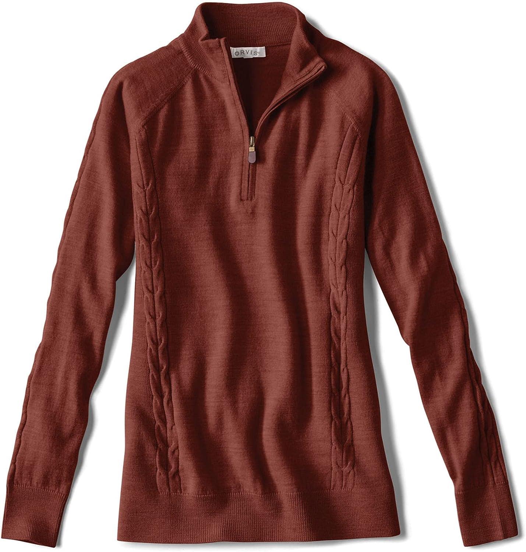 Orvis Women's Signature Merino Cheap super special price Sweater Quarter-Zip Discount is also underway