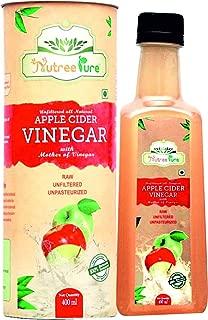Nutree Pure Apple Cider Vinegar ( Acv ) 400Ml