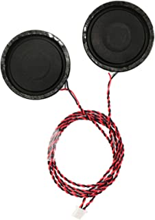 VSDISPLAY 8ohm 2W Speaker With 1.25 Pitch Connector Fit for the board which have 1.25mm pitch speaker connector, such as VS-RTD2556HC-V2,VS-RT2795T4K-V2,VS-RT2795T4K-V3,VS-CX70DT900-V1,VS-CX53DT900-V1