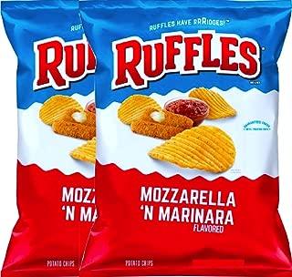 NEW Ruffles Mozzarella & Marinara Flavored Potato Chips, 2.62 oz Bag (2)