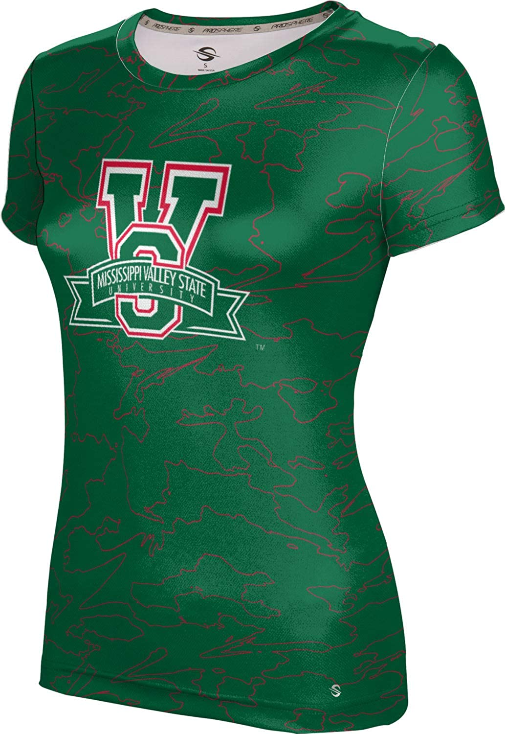 ProSphere Mississippi Valley State University Girls' Performance T-Shirt (Topography)