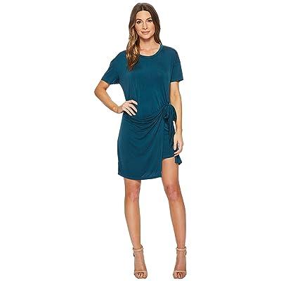 Young Fabulous & Broke Pamella Dress (Sea Blue Solid) Women