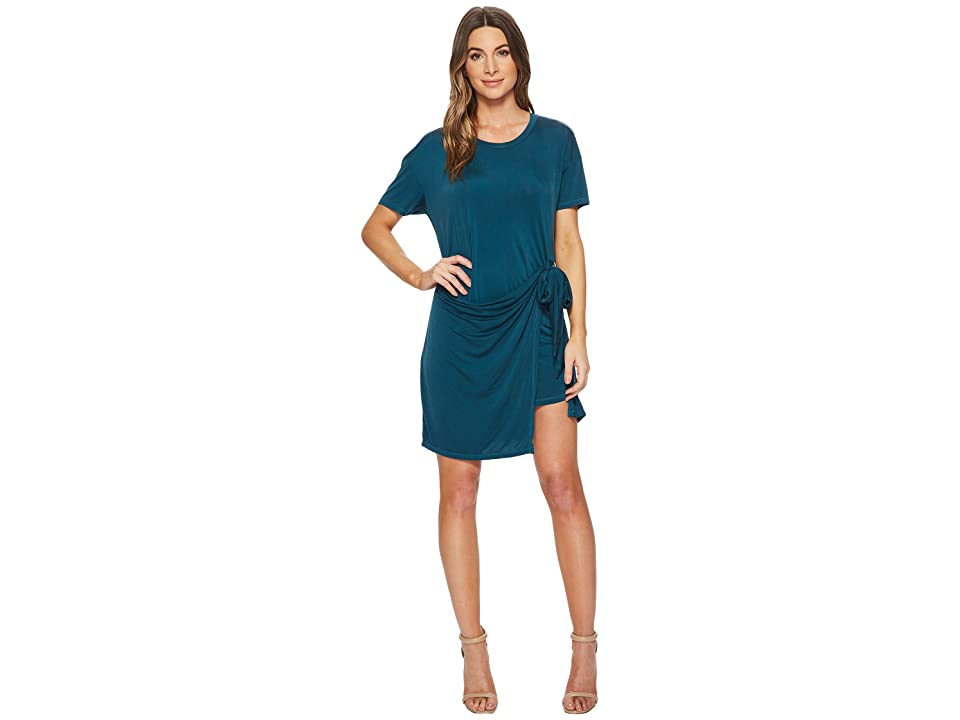 Young Fabulous & Broke Pamella Dress (Sea Blue Solid) Women
