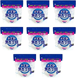 【セット品】ドでか無香空間 消臭剤 詰め替え用 無香料 1500g ×8個