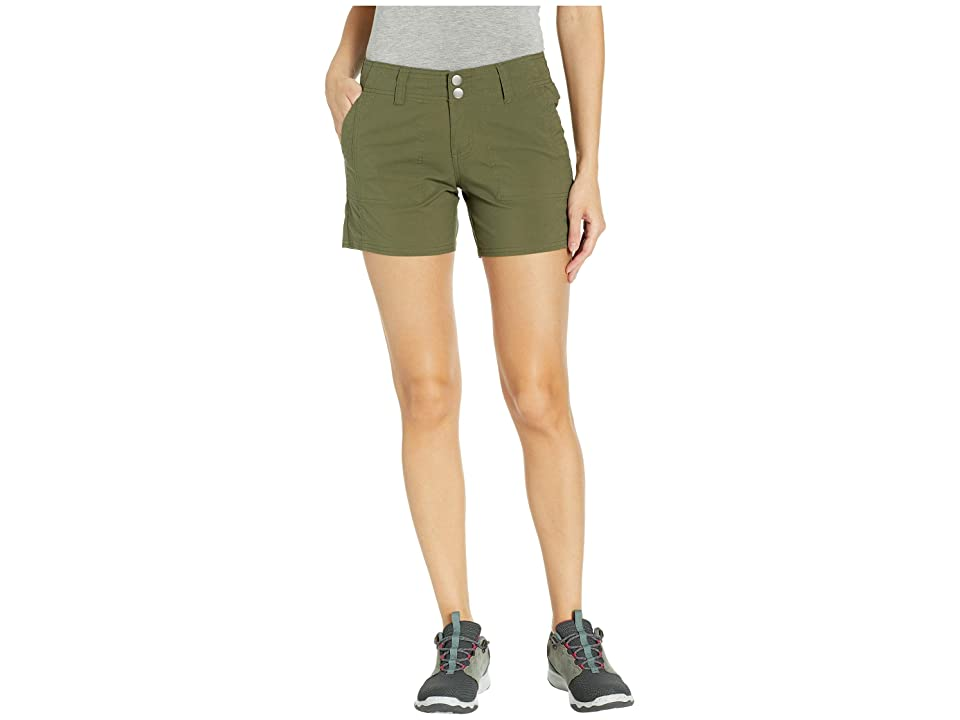 Prana Kalinda Shorts (Cargo Green) Women