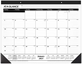 2021 Desk Calendar by AT-A-GLANCE, Monthly Desk Pad, 21-3/4
