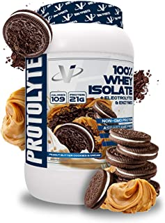 VMI Sports Protolyte Whey Isolate Protein Powder, 1.6 Pounds, Peanut Butter Cookies & Cream