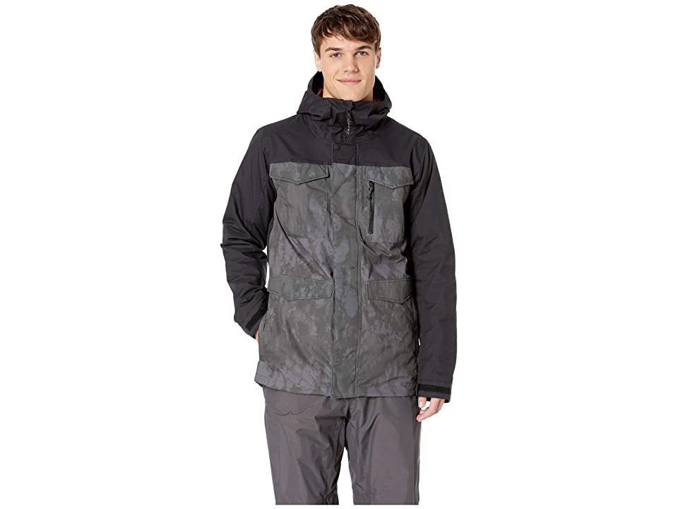 Burton Covert Jacket (Cloud Shadows/True Black) Men