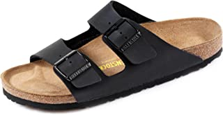 Birkenstock Arizona Black Birko-Flor Adult Flat Sandals