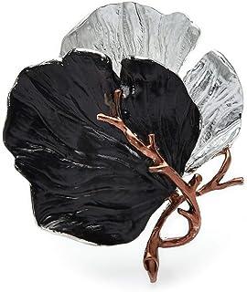Spille con foglie grandi per spille da donna smaltate per feste da ufficio
