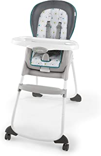 Ingenuity Trio 3-in-1 High Chair - Nash - High Chair, Toddler Chair, Booster