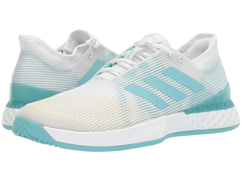 adidas Adizero Ubersonic 3 X Parley (Footwear White/Blue Spirit/Footwear White) Men