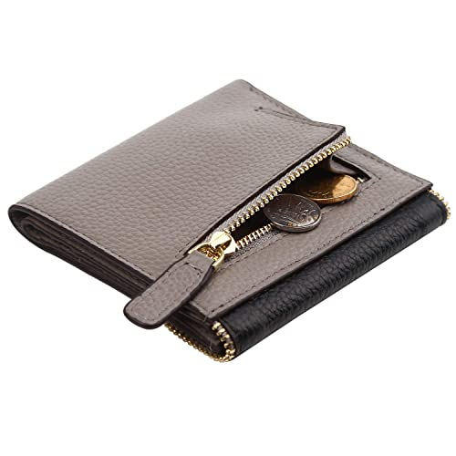 be6d88a395be93 Women's RFID Blocking Small Compact Bifold Leather Pocket Wallet Ladies  Mini Purse
