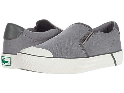 Lacoste Gripshot Slip-On 2202 CMA (Dark Grey/Off-White) Men