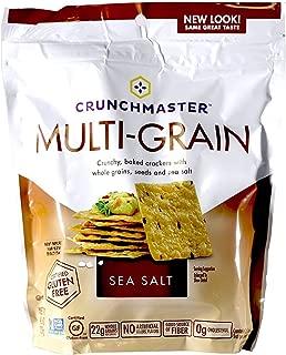 Crunchmaster Cracker - Sea Salt Flavor Gluten-Free, 4oz (Pack of 2)