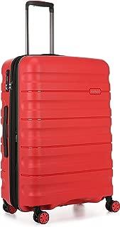 Antler 4227107016 Juno 2 4W Medium Roller Case Suitcases (Hardside), Red, 68 cm