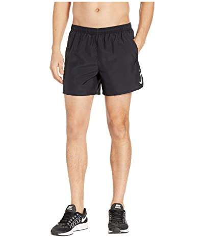 Nike Challenger Shorts 5 BF (Black/Black/Reflective Silver) Men
