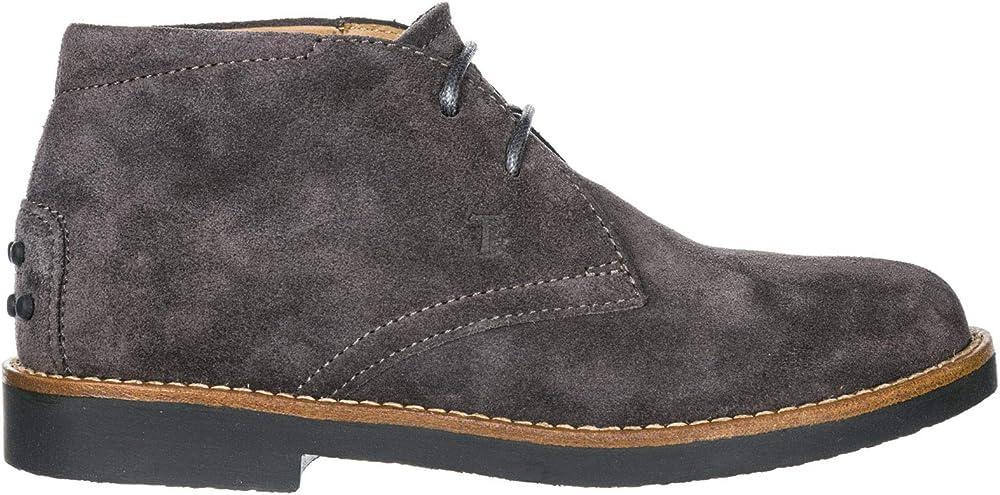 Tod`s ,scarpe polacchine per bambino,in pelle scamosciata UXC0TW00D80RE09994
