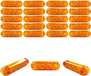 20x 3 SMD LED Begrenzungsleuchten Gelb 12V 24V Positionsleuchten LKW Anhänger