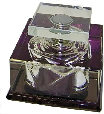 Amlong Crystal Crystal Perfume Bottle for Displaying Inside Car (C)
