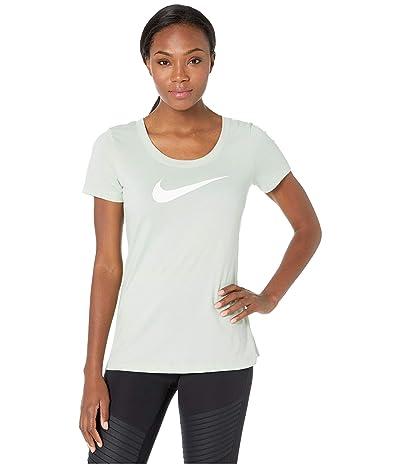 Nike Dry Tee Scoop Swoosh Cross-Dye (Pistachio Frost/Heather/White) Women