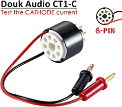 Nobsound Vacuum Tube Amp Amplifier Plate Bias Current Probe Tester 8 Pin Socket for EL34, KT88, 6L6, 6V6, 5881, 6550, KT66, KT100, KT120, 7027 (CT1-C, Cathode Current)