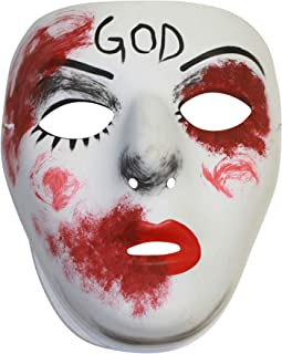 Divine Similar Purge Scary Masquerade Mask for Men and Women