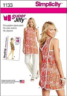 Simplicity 1133 Women's Tunic and Pants Sewing Pattern Set, Sizes 6-18