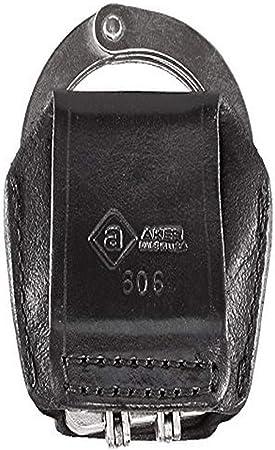 Aker Leather A575-BW Enclosed Mase Case Black Basketweave