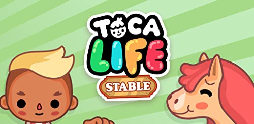『Toca Life: Stable』のトップ画像