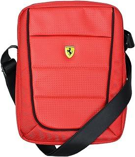 (フェラーリ) Ferrari ショルダーバッグ 10インチ タブレット用 RD