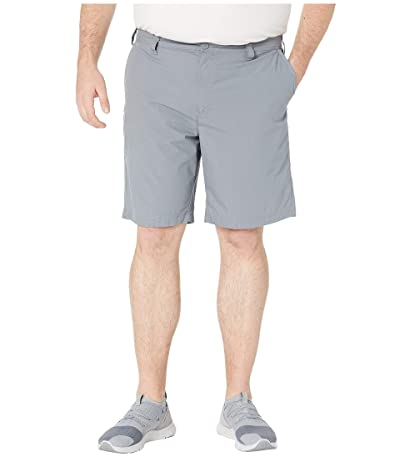 Columbia Big Tall Washed Outtm Shorts (Grey Ash) Men