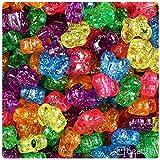 BeadTin Jelly Mix Sparkle 13mm Butterfly Pony Beads (250pcs)