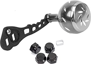 JEKOSEN New Replacement Carbon Fiber Power Fishing Reel Handle Aluminum knobs Accessories for Baitcasting Rocker