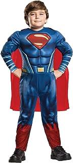DC Comics - Disfraz de Superman Deluxe para nino, infantil