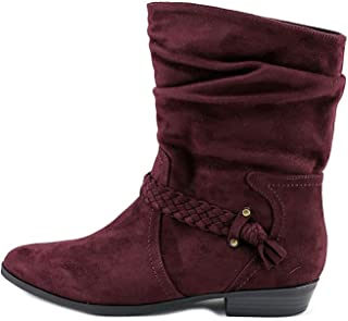 Indigo Rd. Womens Jalena Pointed Toe Ankle Fashion Boots