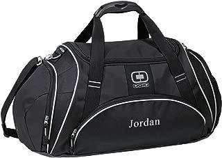 monogrammed gym bag
