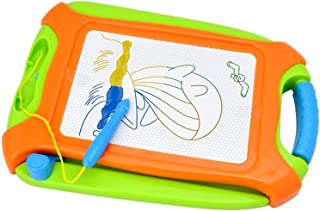 Tablero de dibujo magnético verde borrable colorido Doodle dibujo tabla de viaje tamaño un juguete para escribir pintura y aprendizaje