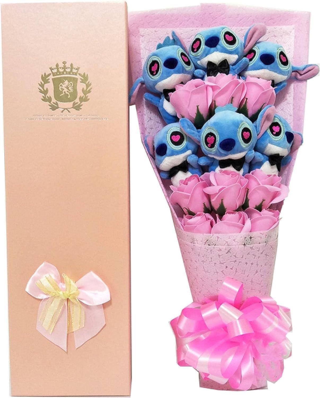 DLRBDMM Graduation Season Gift Beautiful Bouqu New arrival Flower Super popular specialty store Rose Plush
