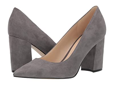 Nine West Cara Pump (Suited Slate) Women