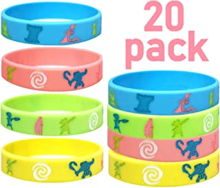 BlueBell 20 pc Moana Silicon Wristbands / Kids Party Favors (Child, Moana)