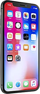 Điện thoại di động Apple – Apple iPhone X, 256GB, Space Gray – Fully Unlocked (Renewed)