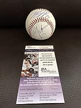 Christian Bale Matt Harvey Batman Dark Knight Mets Autographed Signed Official Major League Baseball - JSA Certified Memorabilia