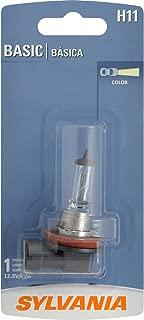 SYLVANIA H11 Basic Halogen Headlight Bulb, (Contains 1 Bulb)