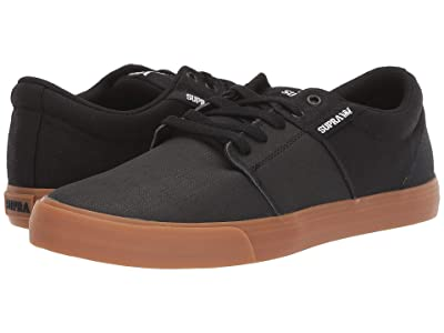 Supra Stacks Vulc II (Black Tuf/Light Gum) Men